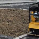 Verlust/Diebstahl von Rüttelplatten auf öffentlichen Baustellen